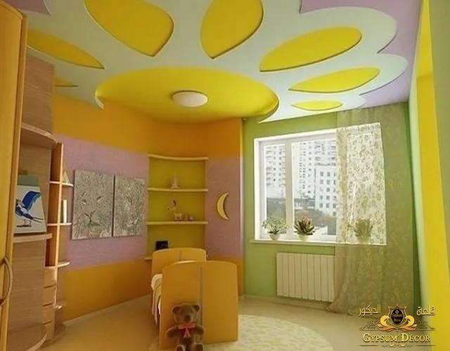 صور دهانات غرف اطفال رقيقة