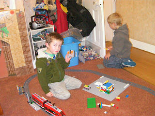 lego electric train set