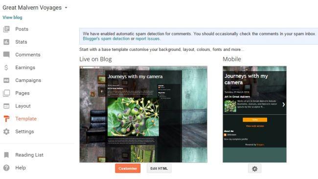 انشاء مدونة,  انشاء موقع ويب