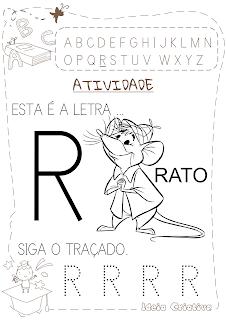 Atividade LETRA R