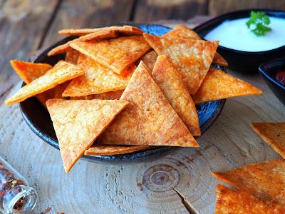Pikantne chipsy
