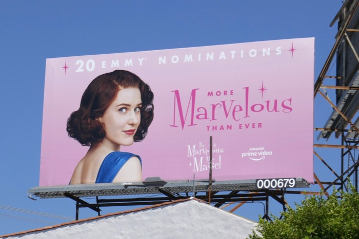 Mrs Maisel More marvelous than ever Emmy nominee billboard