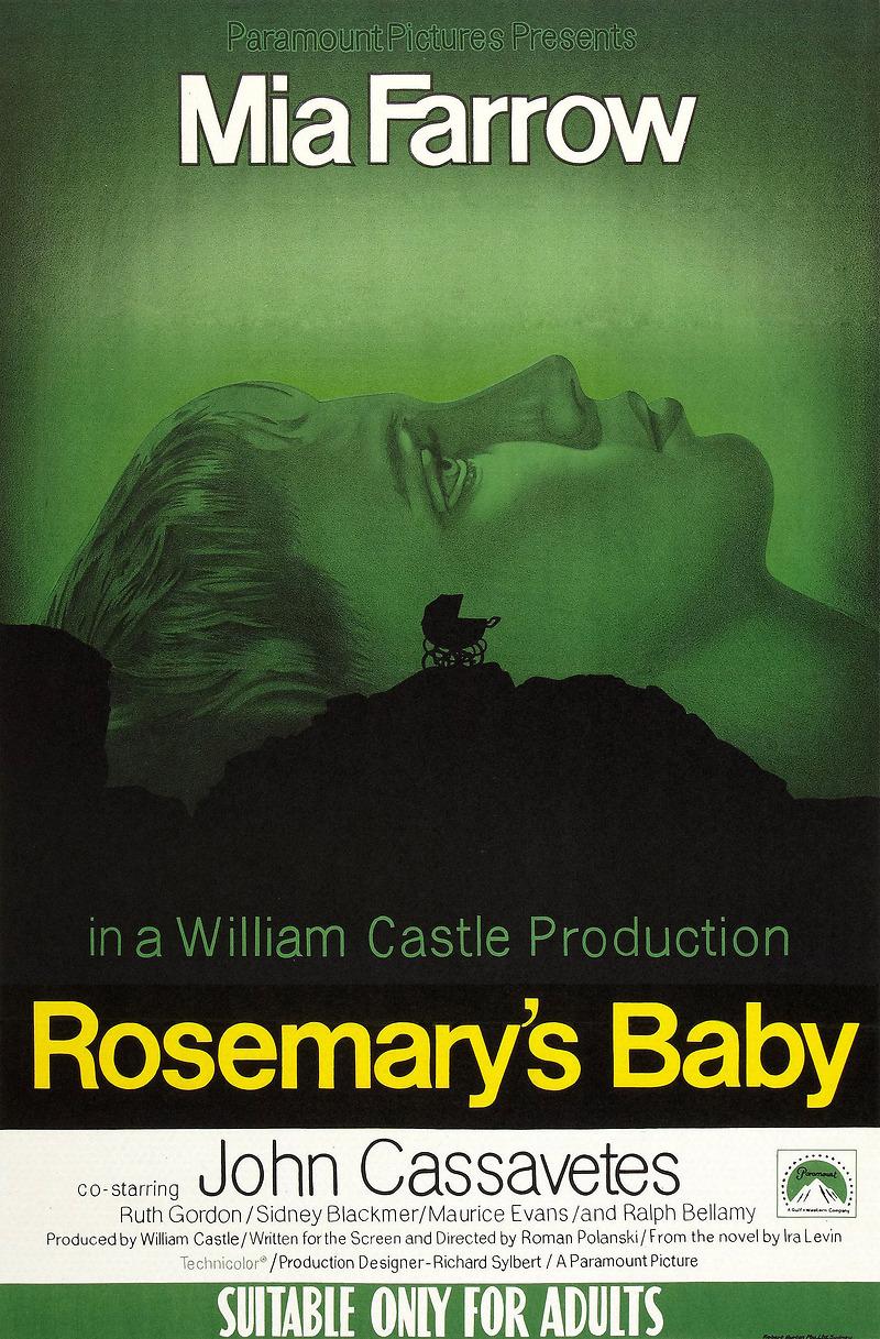 o bebe de rosemary dublado gratis