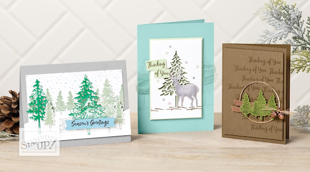 In The Pines Stampin Up Helen Read Allthingsstampy