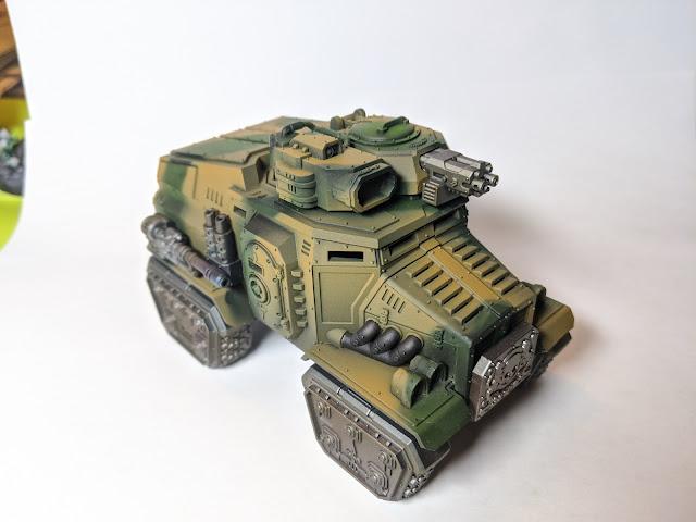 Taurox Prime test piece