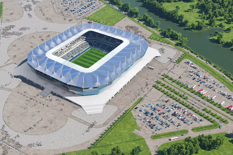 #Kaliningrado – Estádio de Kalinigrado - 35.000