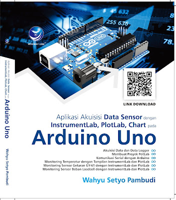 Aplikasi Akuisisi Data Sensor Dengan InstrumentLab, PlotLab, Chart Pada Arduino Uno