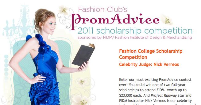 Nick Verreos Fidm Nick Verreos Judges Prom Advice S 2011 Scholarship Competition