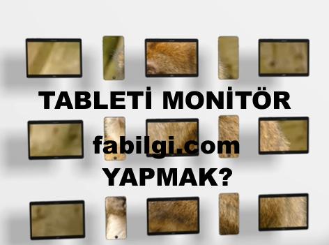 Telefonu Tableti İkinci Monitör Ekran Olarak Kullanma Basit