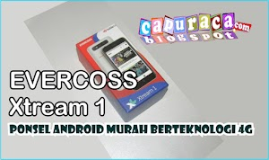 Review Handphone Android Evercoss Xtream 1