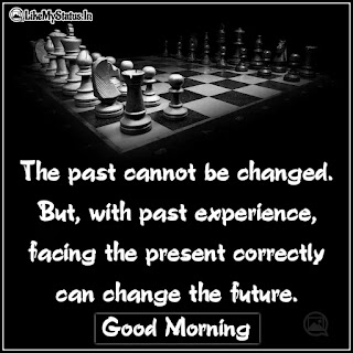 Inspirational good morning life quote