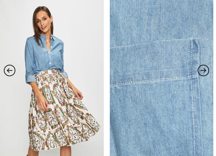 Answear - Camasa jeans de femei moderna