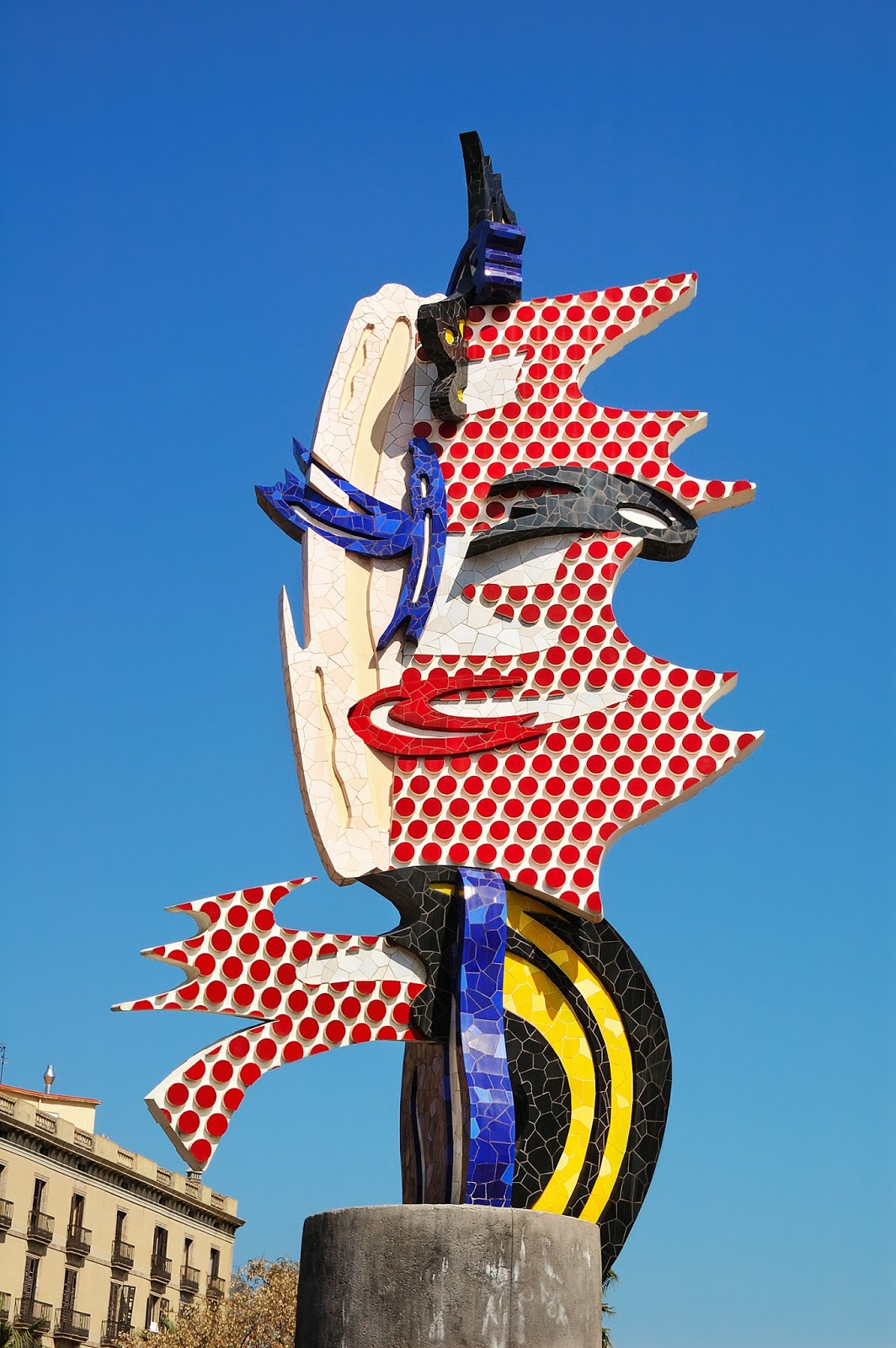 Barcelona Head, 1992 by Roy Lichtenstein