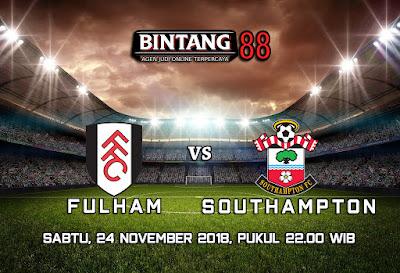 Prediksi Fulham Vs Southampton 24 November 2018