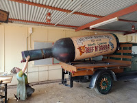 Northern Territory BIG Things | Daly water's BIG Wine Bottle