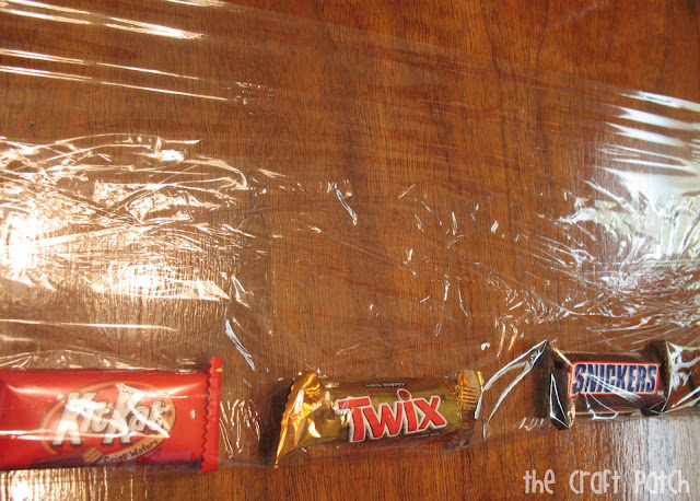 Candy Bar Lei Instructions