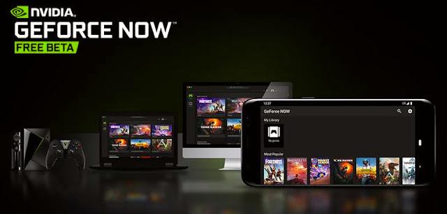 GeForce Now reaches smartphones!