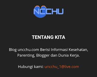 Berkenalan dengan Admin Blog Uncchu