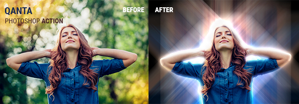 Gocam - Golden Lighting Studio Effect Photoshop Action