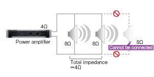 Ohms and speaker output