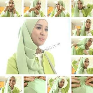 tutorial hijab untuk pesta