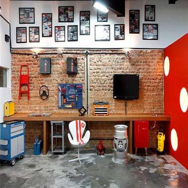 Garagem multiuso
