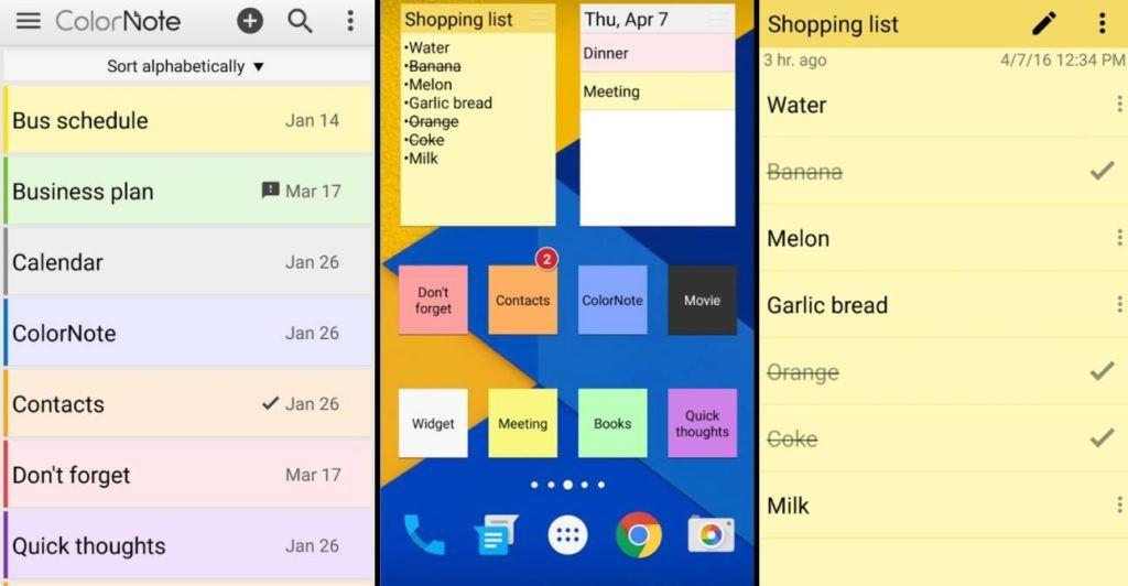 تحميل برنامج Color Note – افضل تطبيق لاخذ الملاحظات على اندرويد