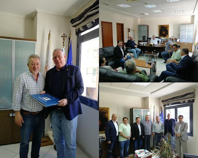 Συνάντηση του Δημάρχου Ηγουμενίτσας, με τον Πρόεδρο του Συλλόγου «Φιλία» Φέλμπερτ