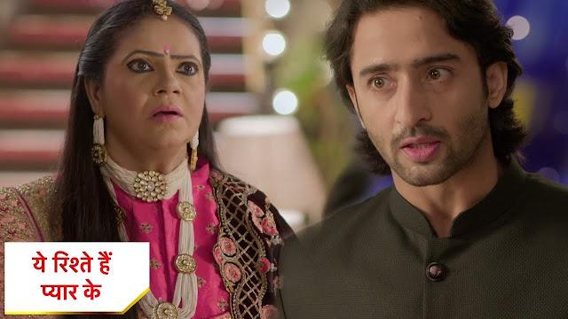 Face-Off : Meenakshi shocked at Abeer's challenge in Yeh Rishtey Hain Pyaar Ke