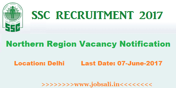 SSC, Jobs in Delhi, Central Govt jobs,