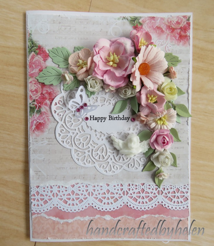 Floral Shabby Chic Card