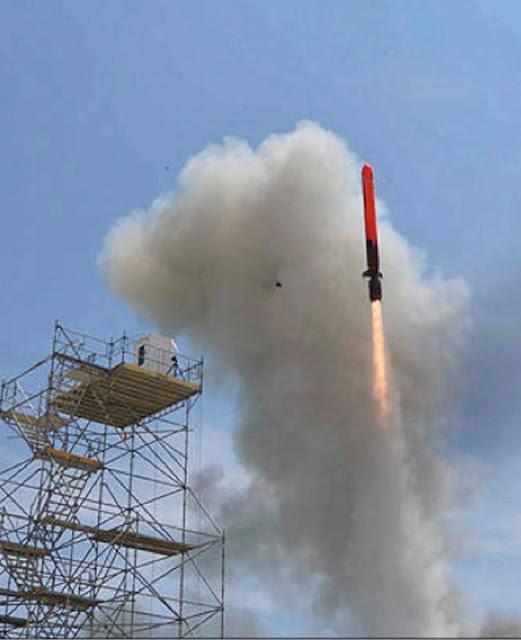 Lanzamiento de pruebas del MCN en tierra