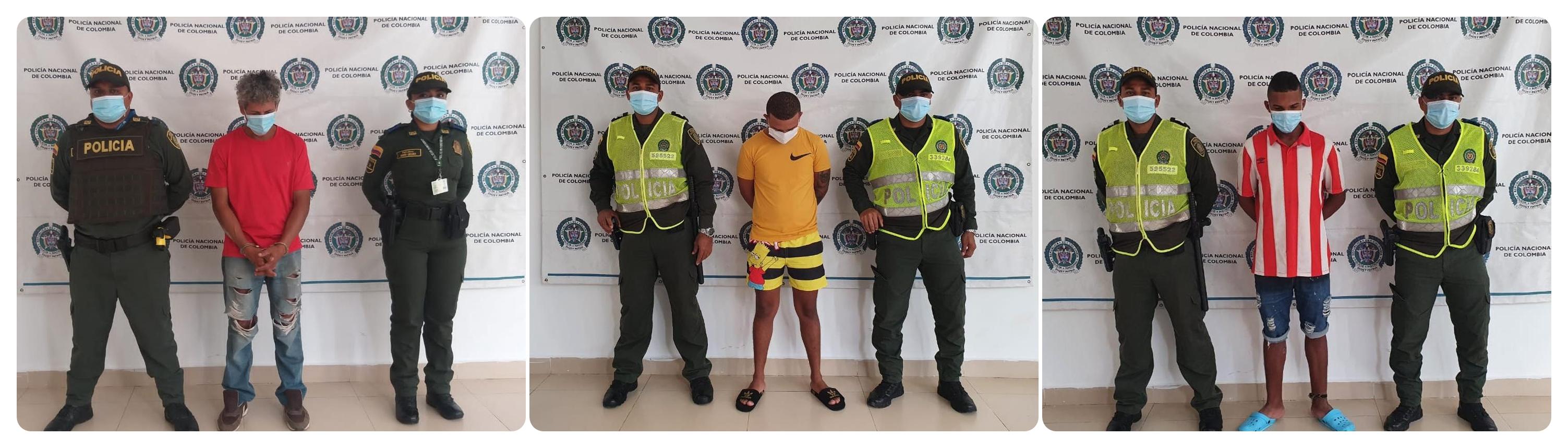 https://www.notasrosas.com/Policía Guajira captura tres personas en Fonseca, por diferentes delitos