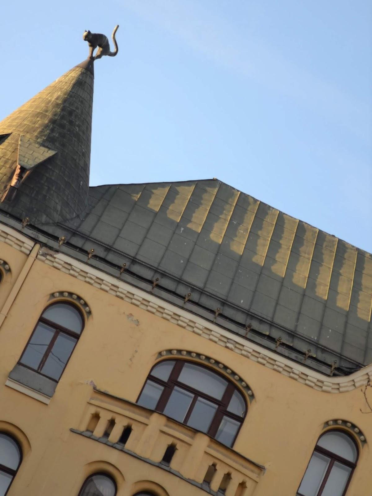 Il gatto di Riga