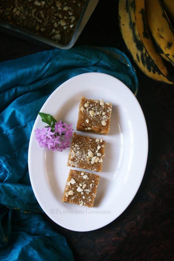 how to make Ripe Plantain Halwa
