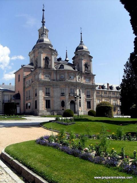 excursión desde Segovia a la Granja de San Ildefonso
