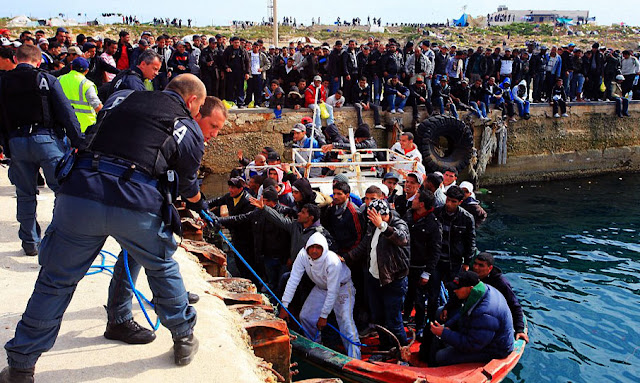 En un mois, plus de quatre mille Tunisiens ont migré vers l'Italie