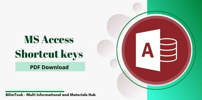 Microsoft Access Shortcut Keys - PDF Download