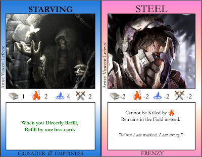 Starving, Steel