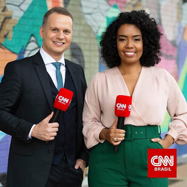 Leandro Magalhães e Julliana Lopes repórteres CNN Brasil em Brasília