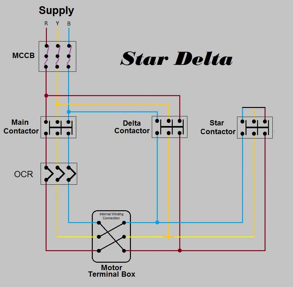 A C Schematic Diagram on