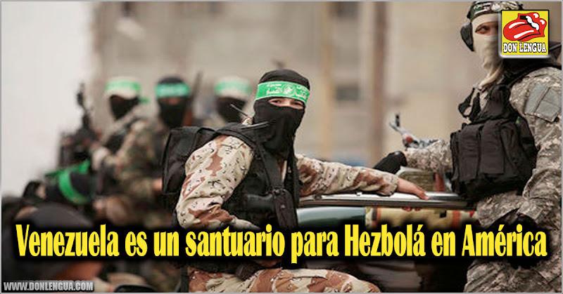 Venezuela es un santuario para Hezbolá en América