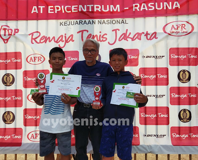 Kalahkan Arsya Philo, Bagus Sandika Yusaka Sabet Gelar Juara RemajaTenis Jakarta-82