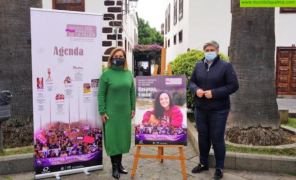 """""""Somos imparables"""", Los Llanos de Aridane celebra el 8 de Marzo con un homenaje a las mujeres en el deporte"""