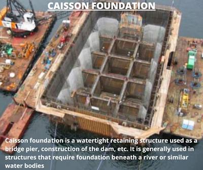 Caisson foundation