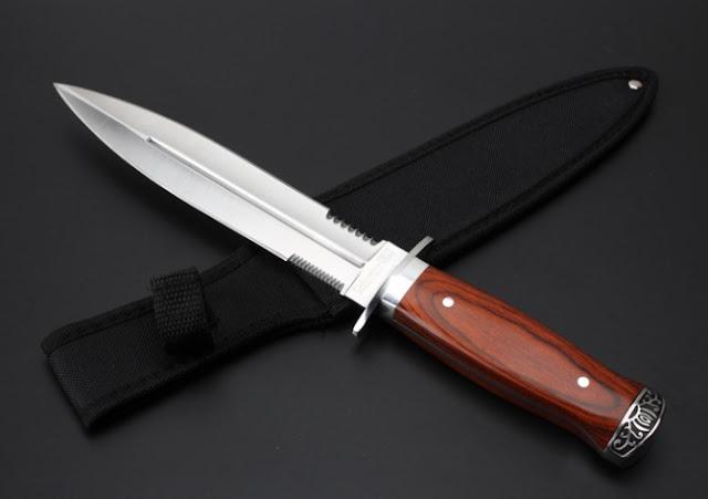 Cutit Columbia cu doua taisuri K326A tais pe ambele parti Knife Cutit vanatoare