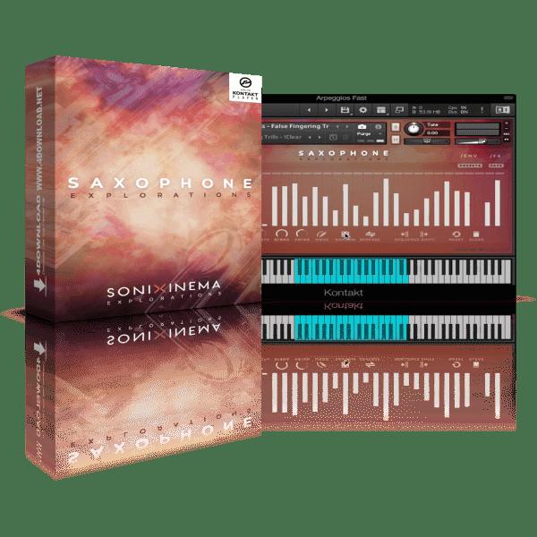 Sonixinema Saxophone Explorations v1.0 KONTAKT Library