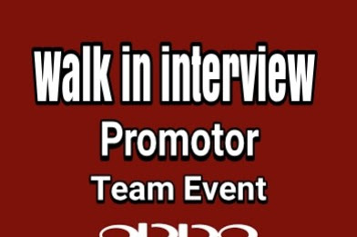 Walk In Interview Promotor Team Event Oppo TasikmaIaya