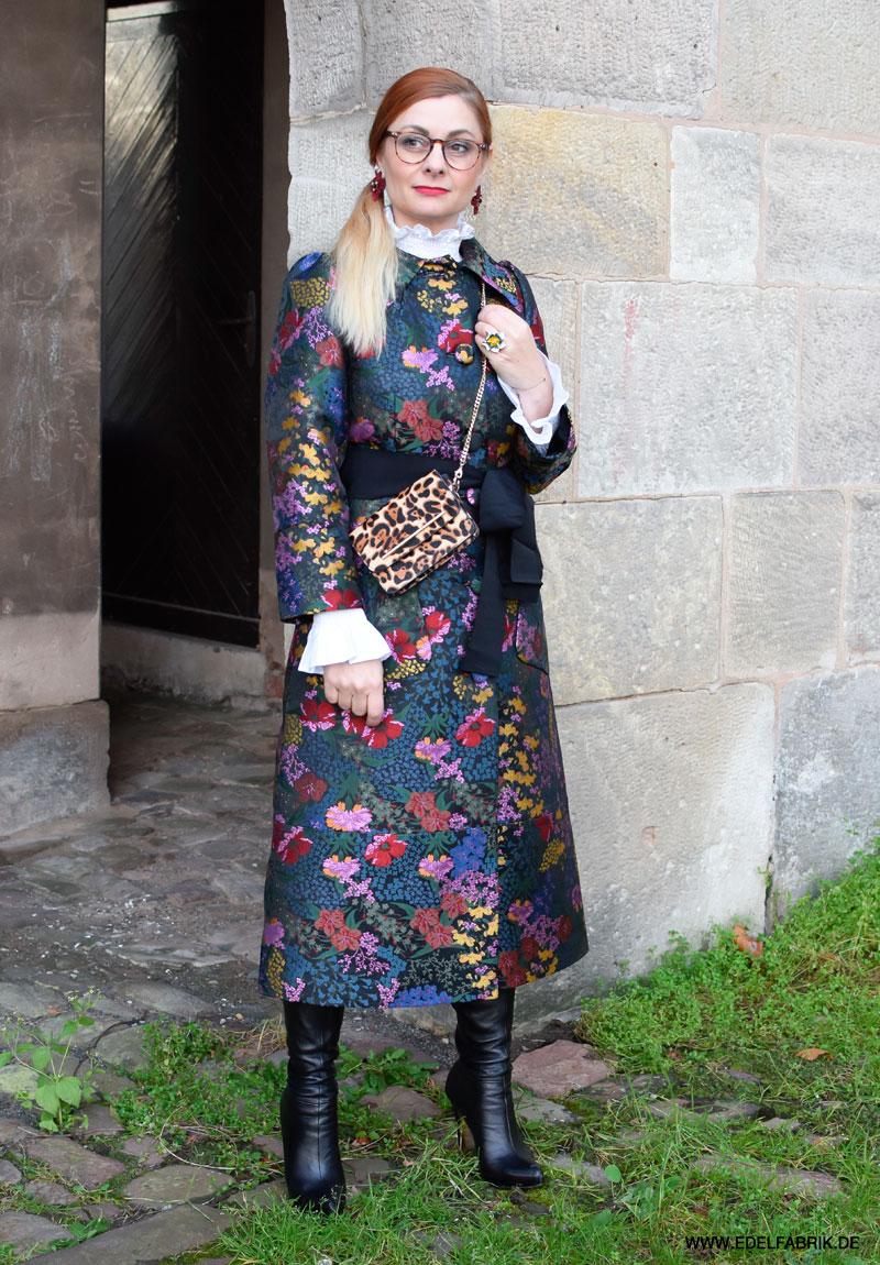 ERDEM für H&M, Mantel mit Blumen
