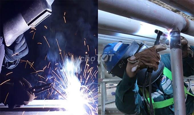 Tìm thuê thợ hàn xì sắt, Inox Việc vụn vặt tại nhà ở hải phòng giá rẻ chuyên nghiệp